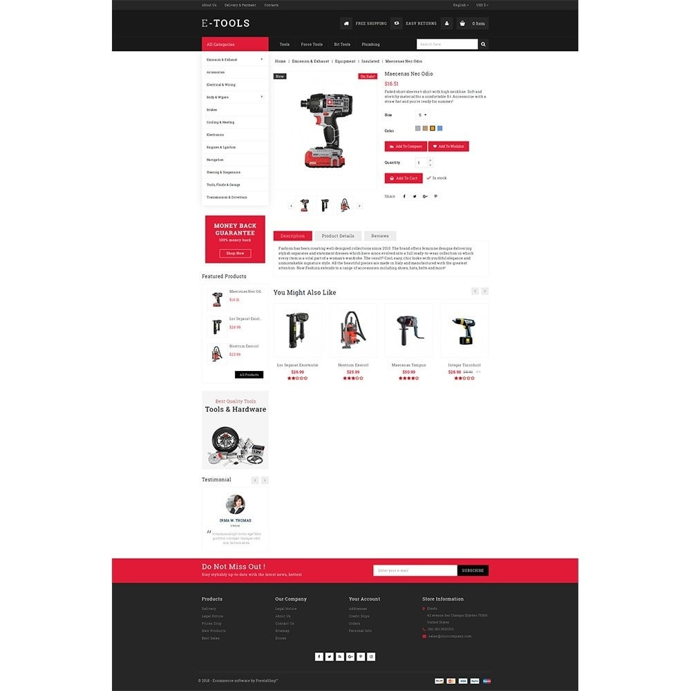 theme - Coches y Motos - Etools Store - 5