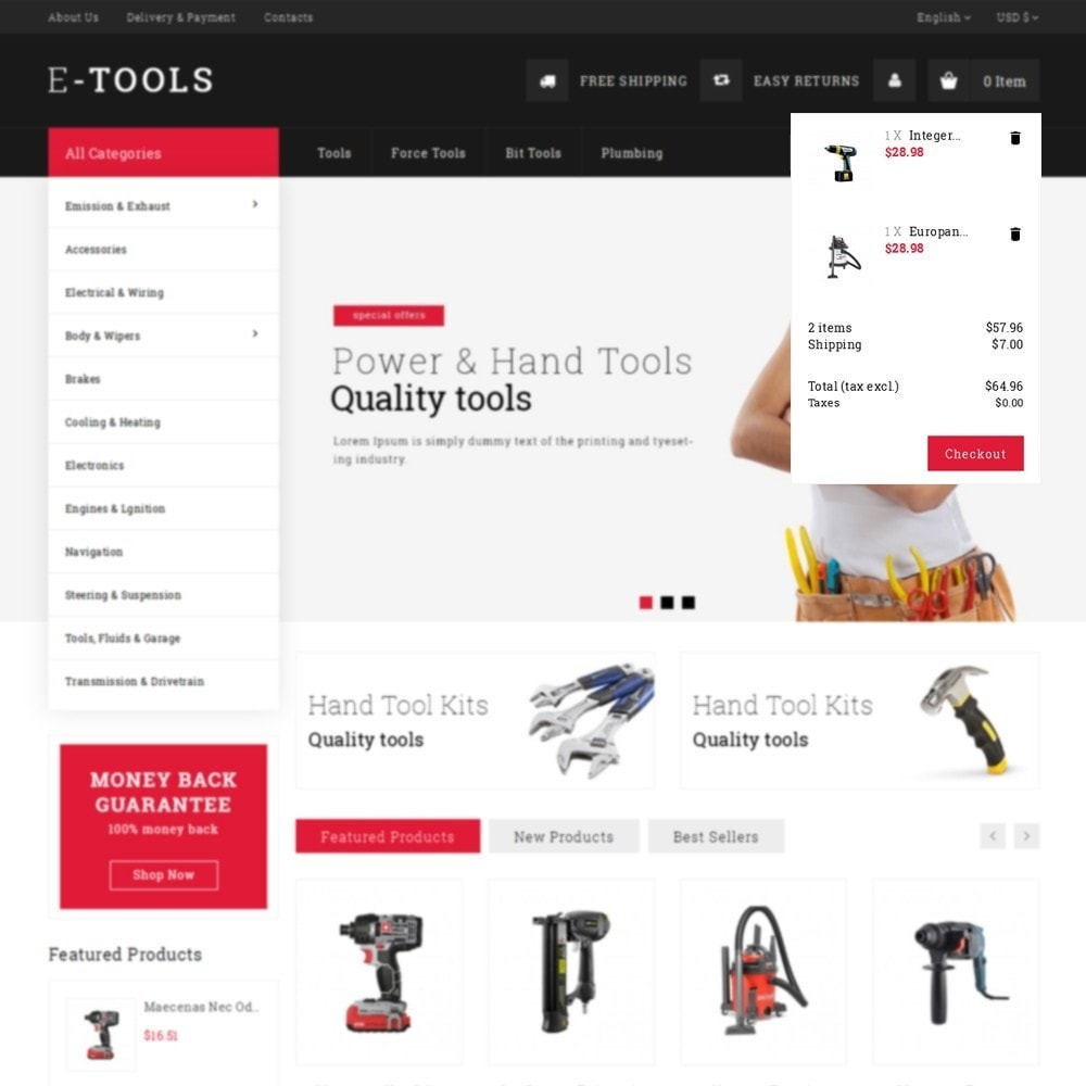 theme - Coches y Motos - Etools Store - 8