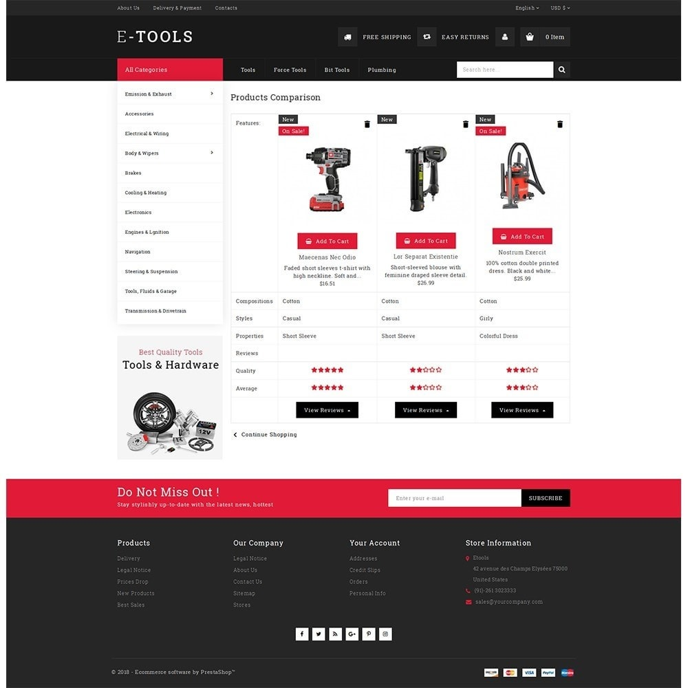theme - Coches y Motos - Etools Store - 9