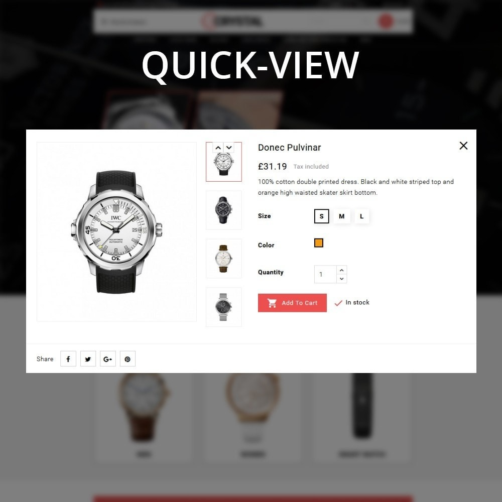 theme - Elettronica & High Tech - Crystal Watch Store - 14