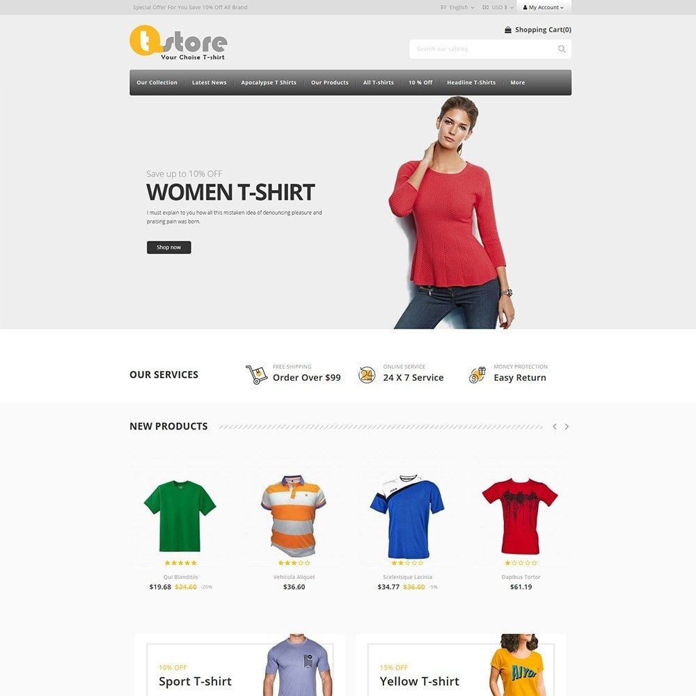 theme - Moda & Obuwie - TStore Fashion Shop - 2