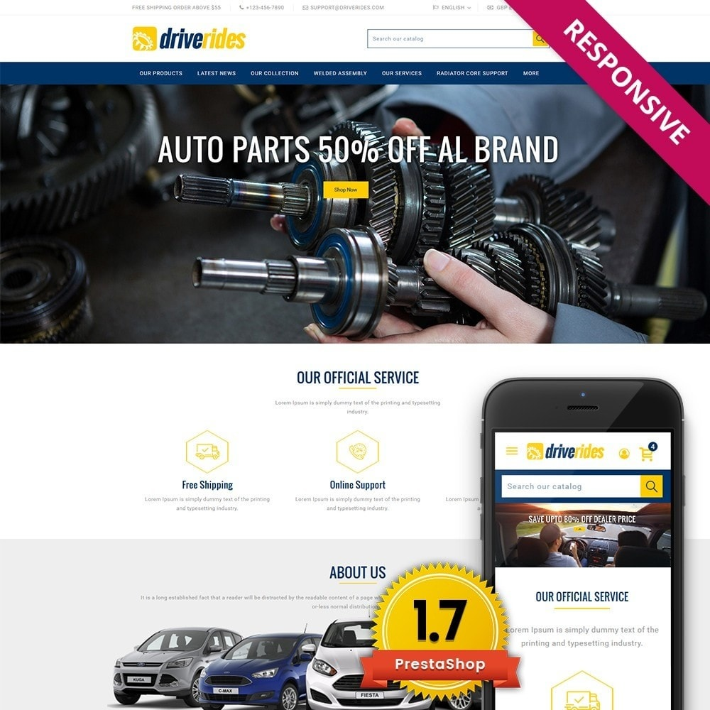 theme - Auto & Moto - Driverides Motor Shop - 1