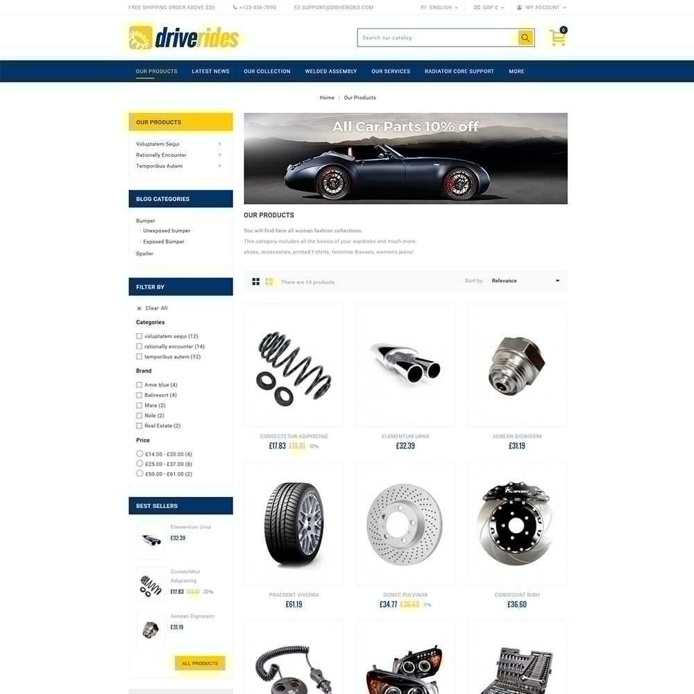 theme - Auto & Moto - Driverides Motor Shop - 3