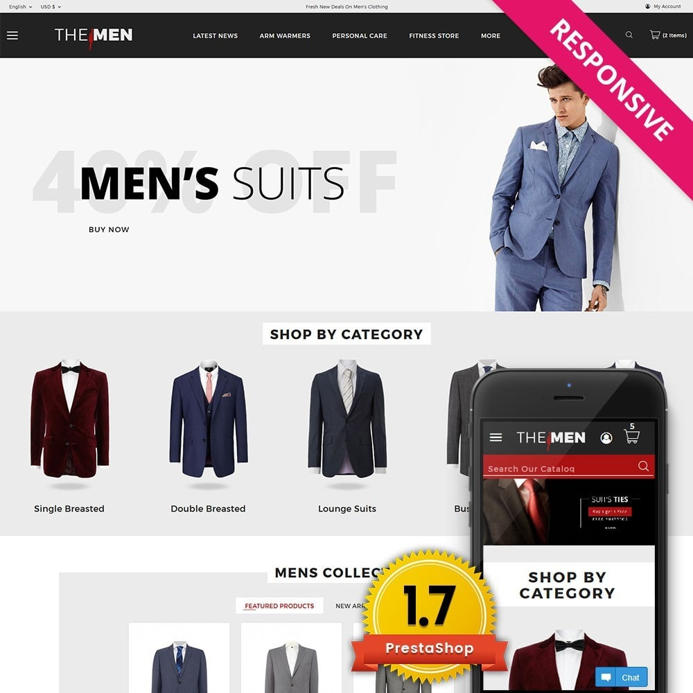 theme - Mode & Chaussures - TheMan Fashion Store - 1