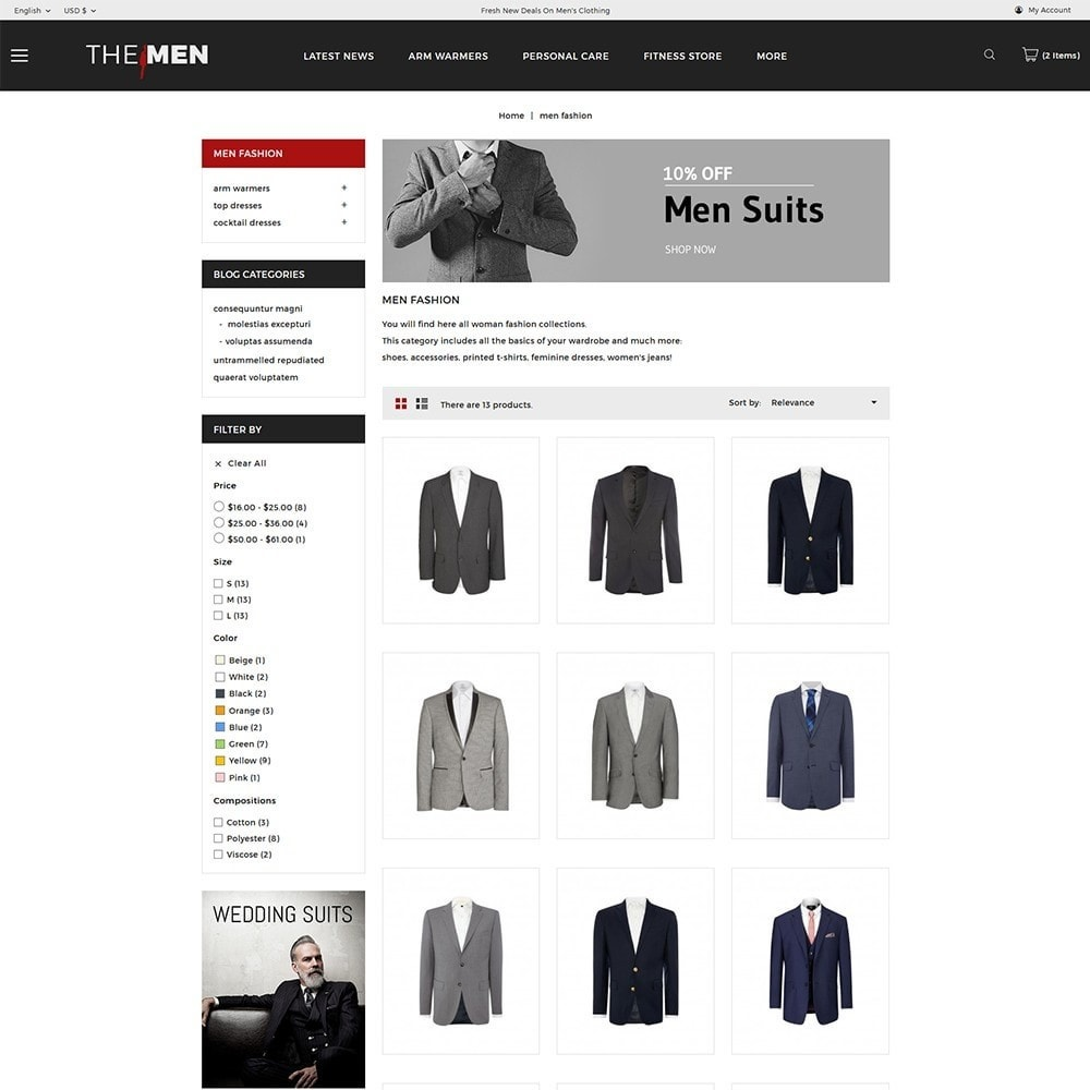 theme - Mode & Chaussures - TheMan Fashion Store - 4