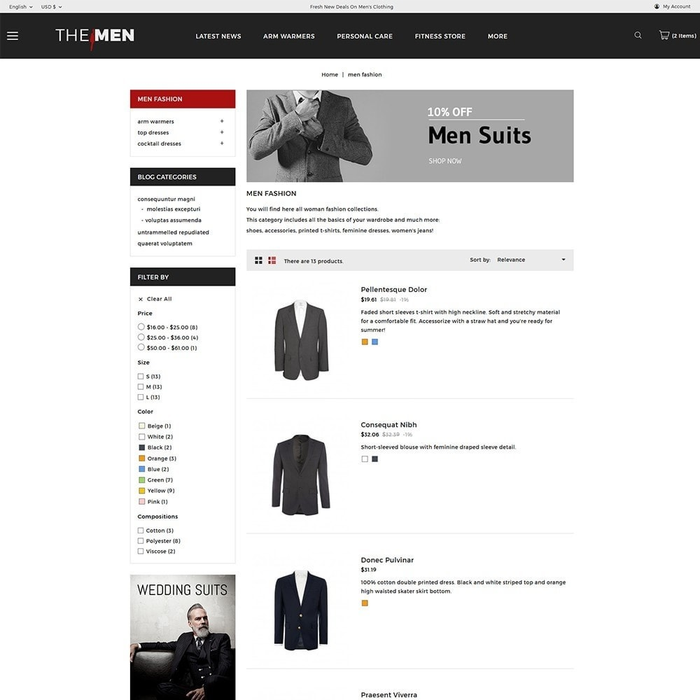 theme - Mode & Chaussures - TheMan Fashion Store - 5