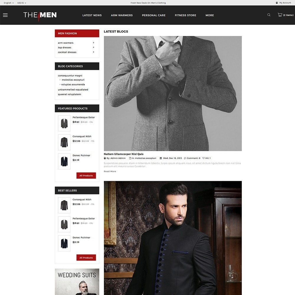 theme - Mode & Chaussures - TheMan Fashion Store - 7