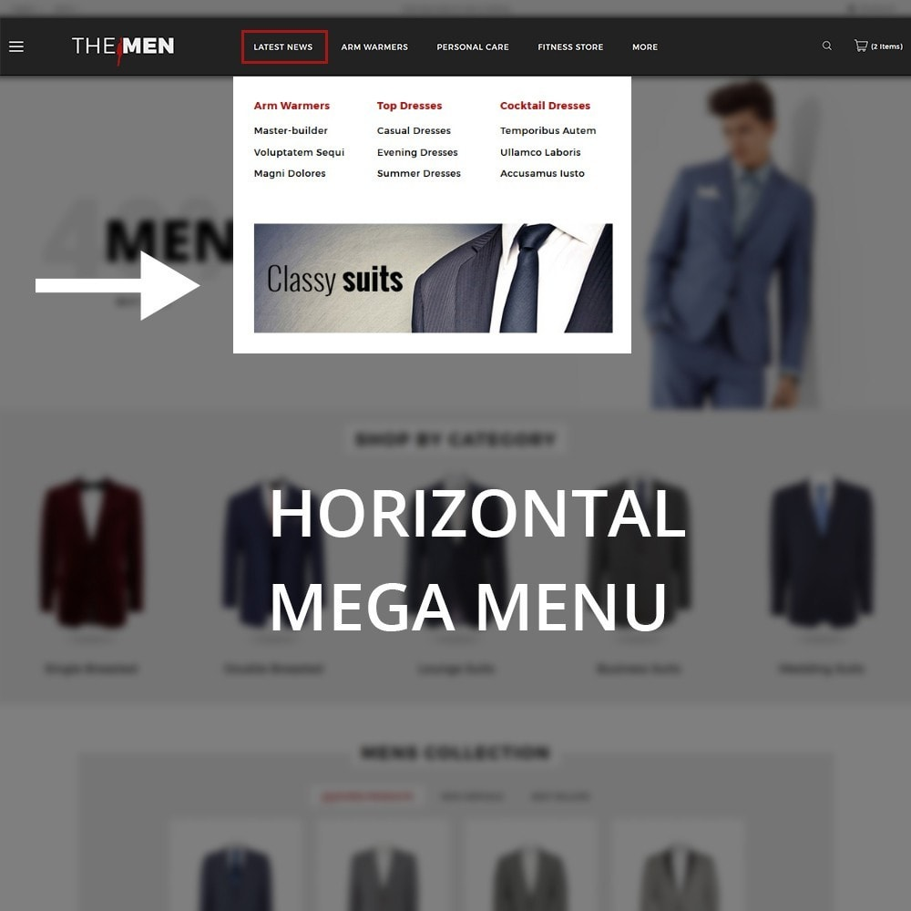 theme - Mode & Chaussures - TheMan Fashion Store - 11