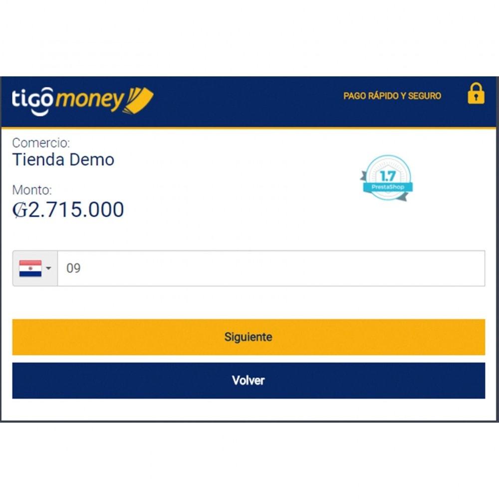 module - Pagamento con Carta di Credito o Wallet - Tigo Money Paraguay - 4