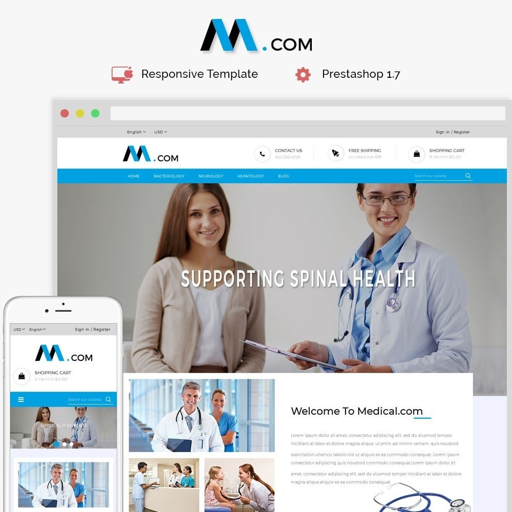 theme - Health & Beauty - Medical Demo Store - 1