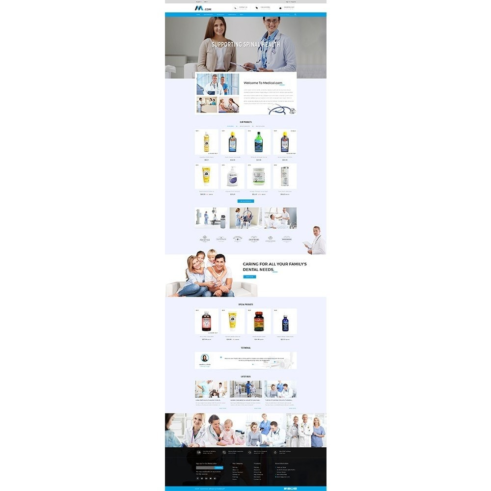 theme - Health & Beauty - Medical Demo Store - 2