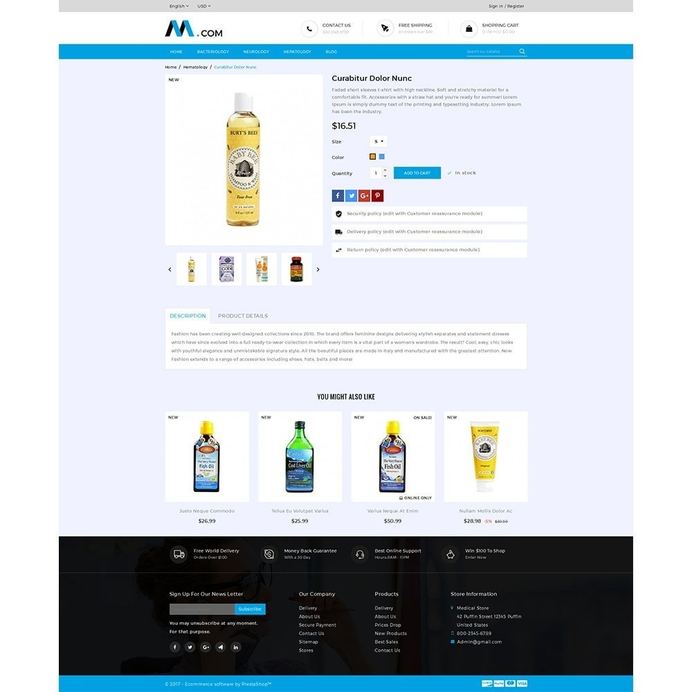 theme - Health & Beauty - Medical Demo Store - 5