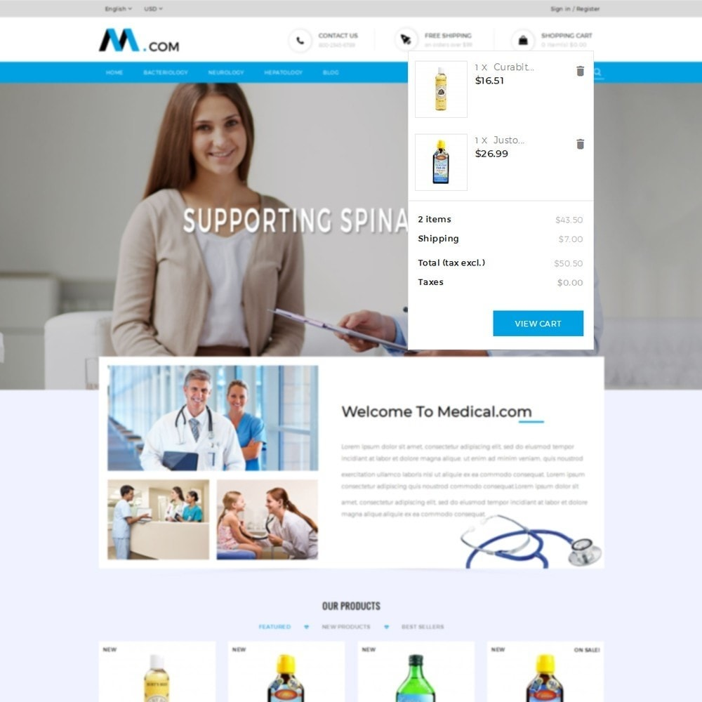 theme - Health & Beauty - Medical Demo Store - 6