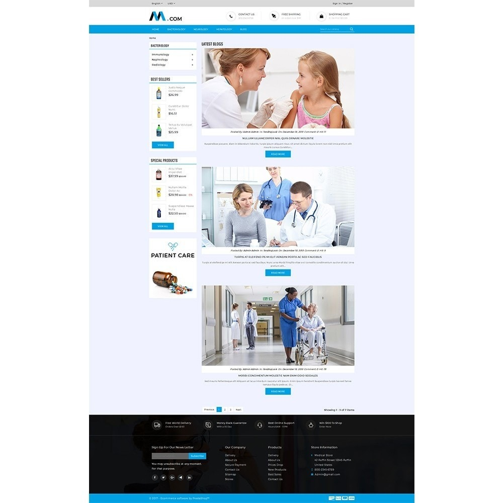 theme - Health & Beauty - Medical Demo Store - 8