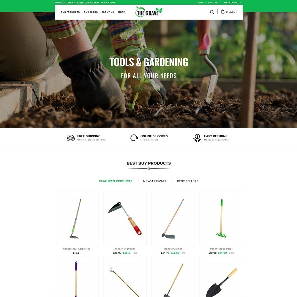 theme - Dom & Ogród - The Grave Gardening Tools - 2