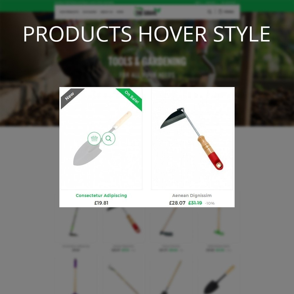 theme - Dom & Ogród - The Grave Gardening Tools - 11