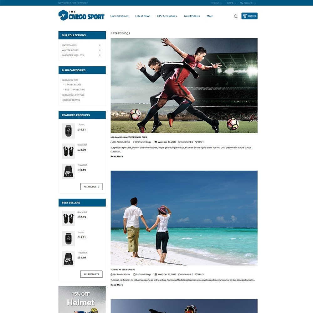 theme - Sports, Activities & Travel - The Cargo Sport - 7