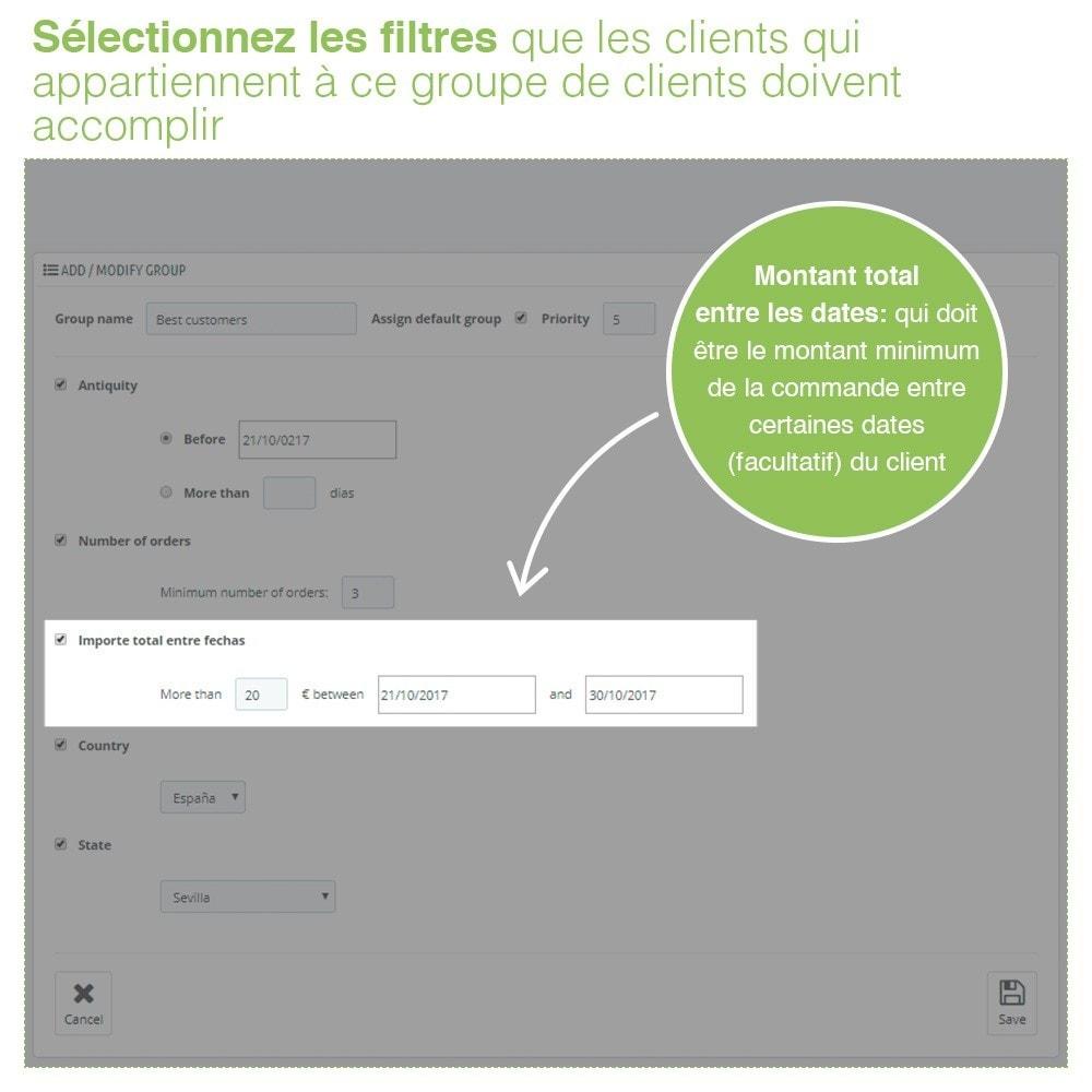 module - Gestion des clients - Gestion Avancée et Massive des groupes de clients - 5
