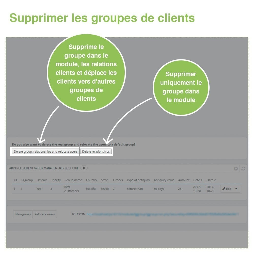 module - Gestion des clients - Gestion Avancée et Massive des groupes de clients - 8