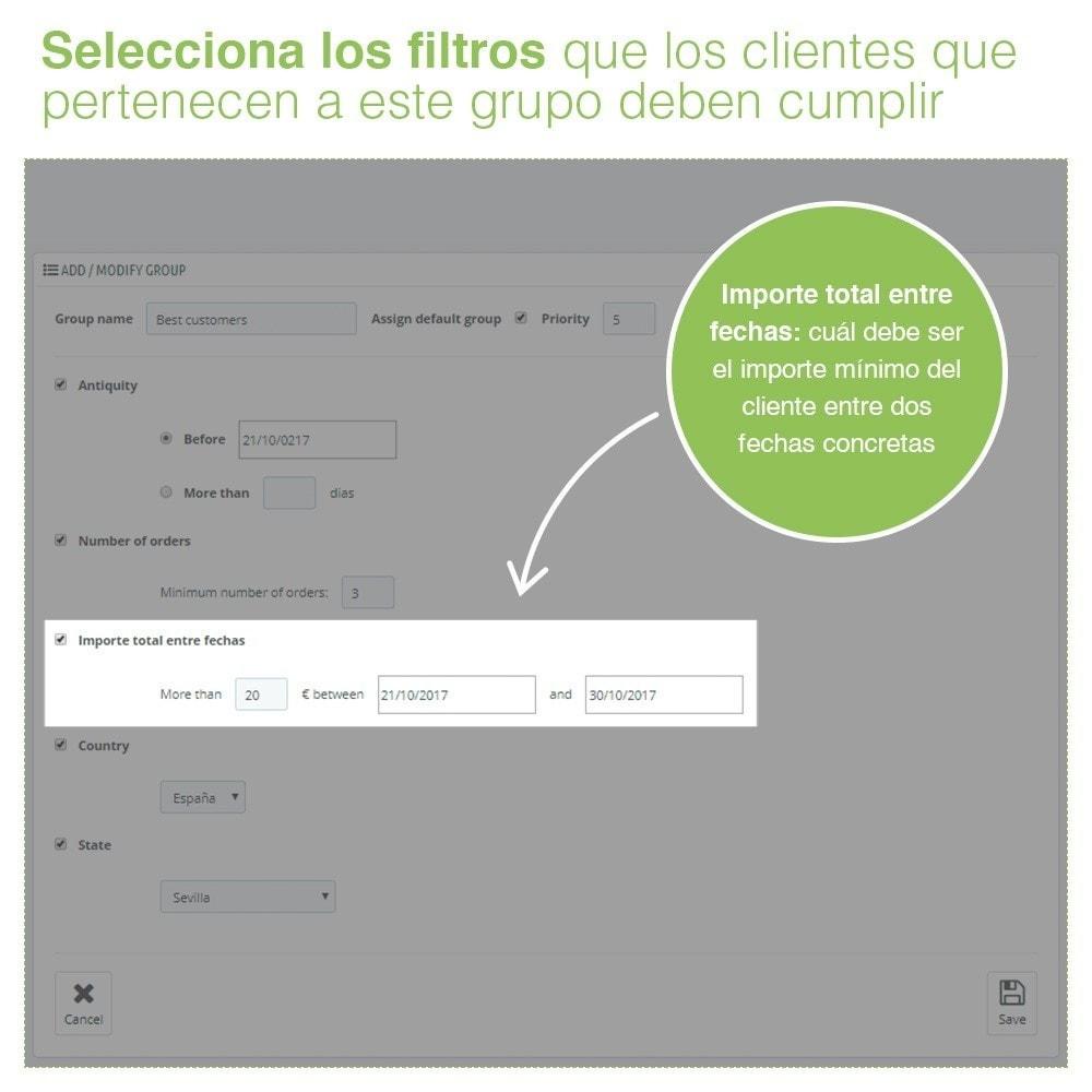 module - Gestión de clientes - Gestión Avanzada de Grupo de Clientes – Edición Masiva - 4