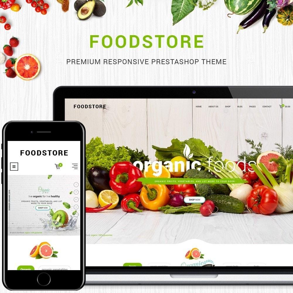 theme - Gastronomía y Restauración - FoodStore - 1