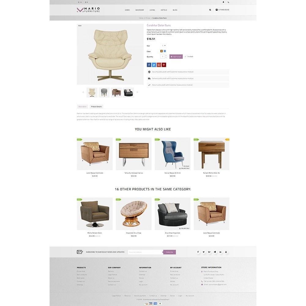 theme - Дом и сад - Mario Furniture Shop - 5