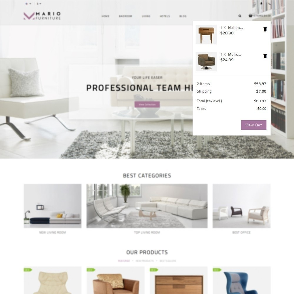 theme - Dom & Ogród - Mario Furniture Shop - 7