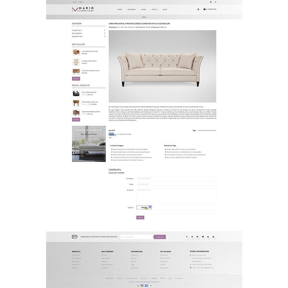 theme - Dom & Ogród - Mario Furniture Shop - 8