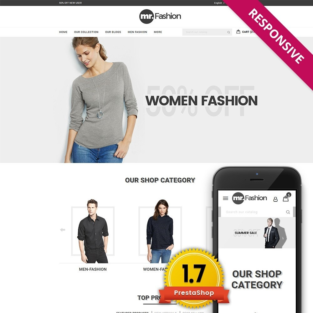theme - Moda y Calzado - MR Fashion Store - 1