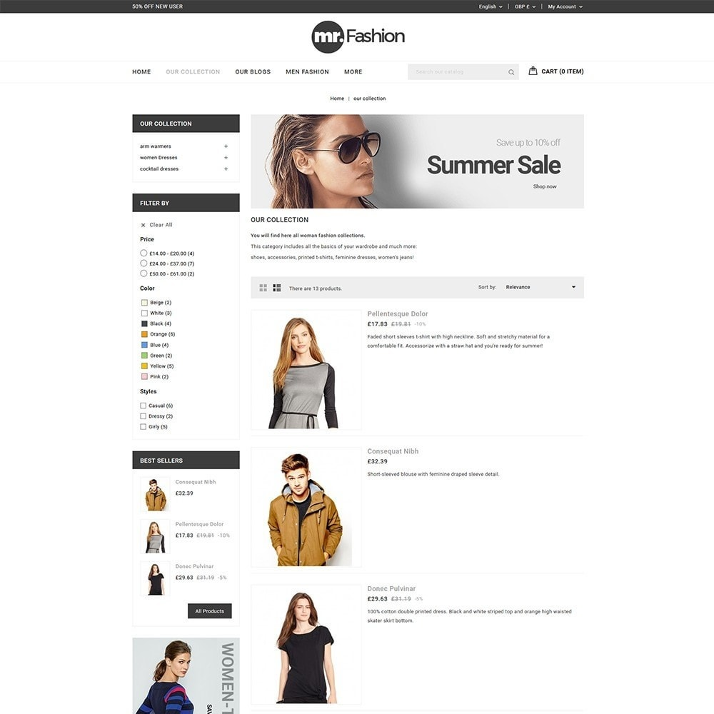 theme - Moda y Calzado - MR Fashion Store - 5