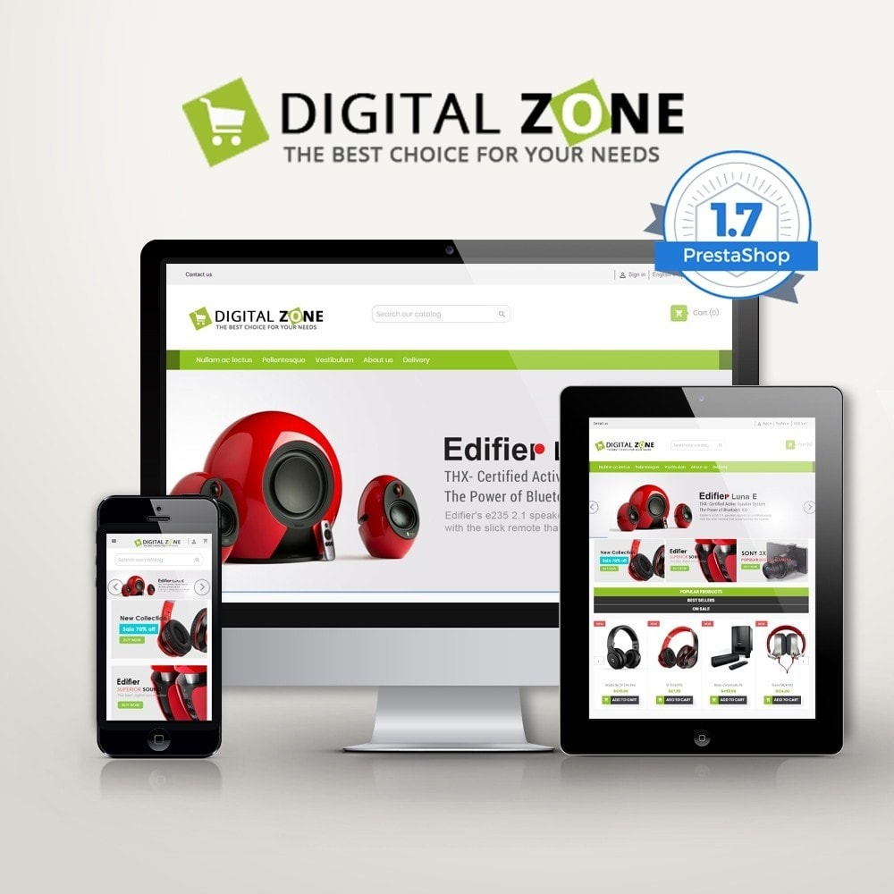 theme - Elettronica & High Tech - Digitalzone Multi-purpose HTML5 - 1
