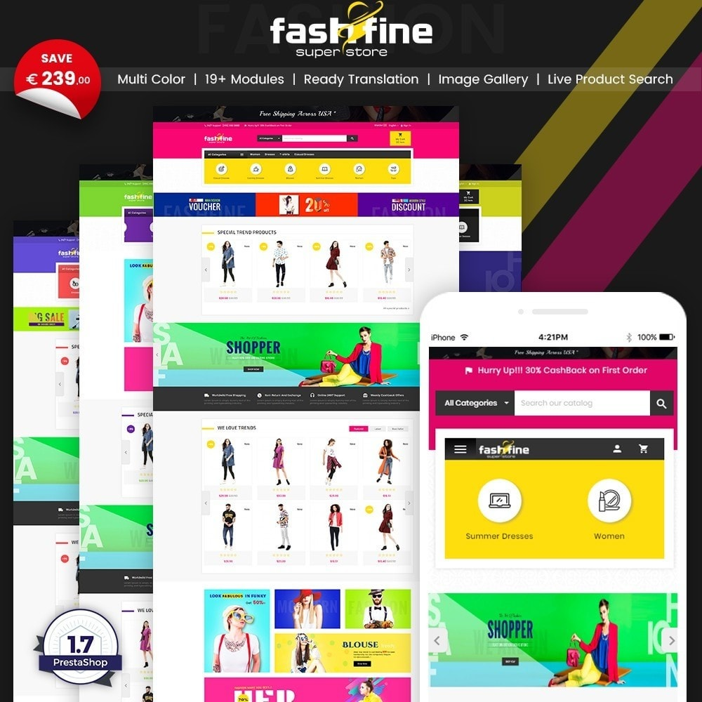 theme - Moda y Calzado - FashFine–Fashion and LifeStyle Accessories Super Store - 1