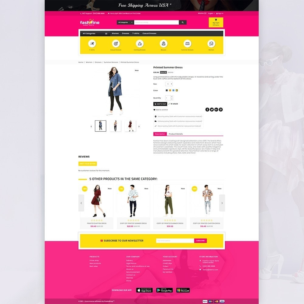 theme - Moda y Calzado - FashFine–Fashion and LifeStyle Accessories Super Store - 4