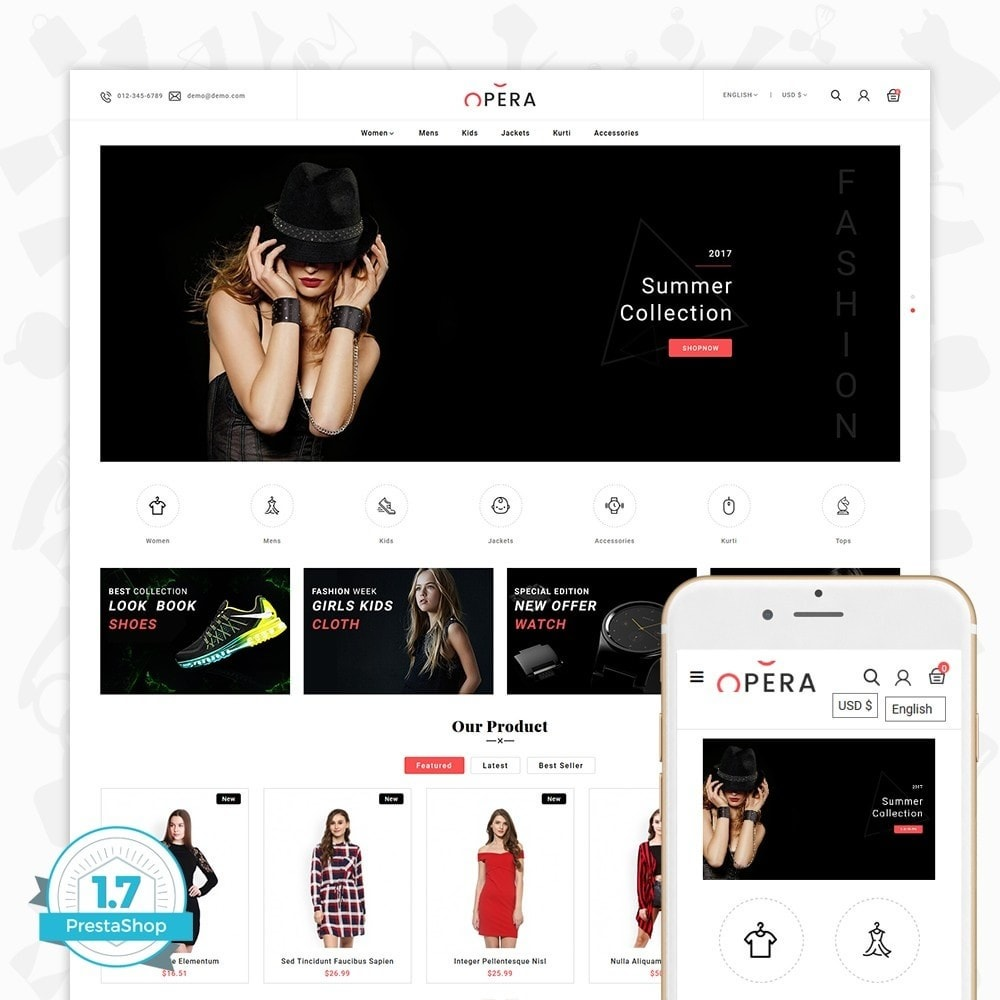 theme - Fashion & Shoes - Fashion Opera - 1