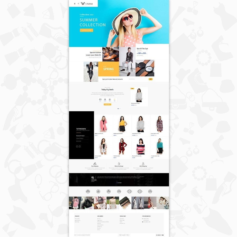 theme - Moda & Obuwie - The Fashion - Fashion Store - 2
