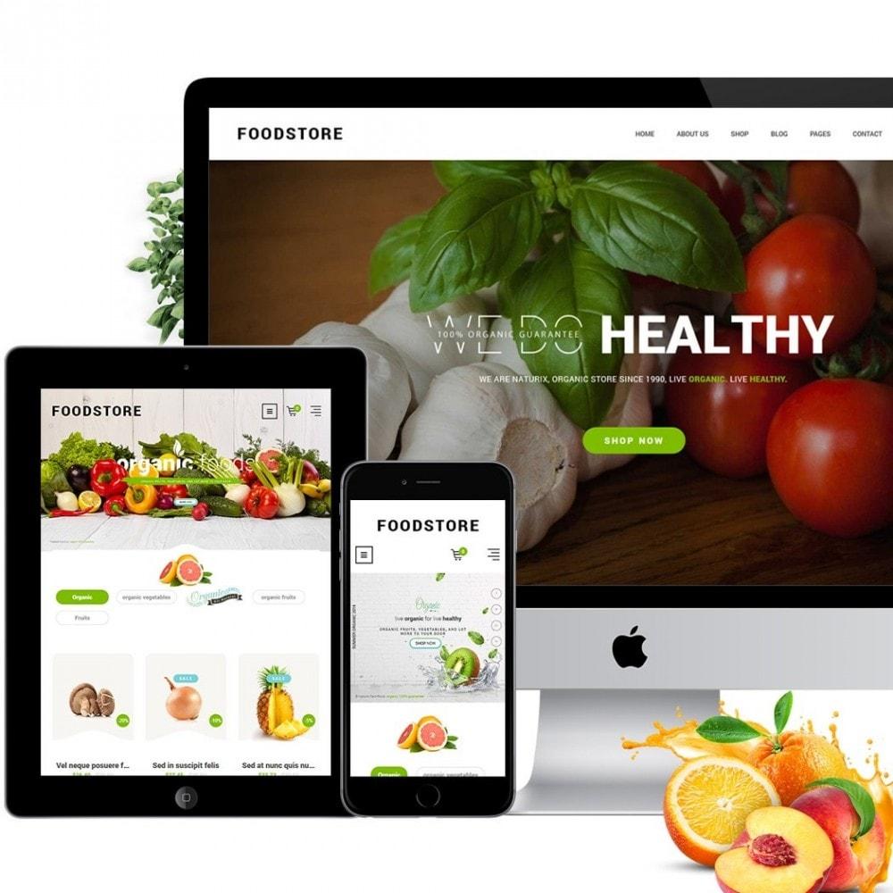 theme - Продовольствие и рестораны - FoodStore II - 3