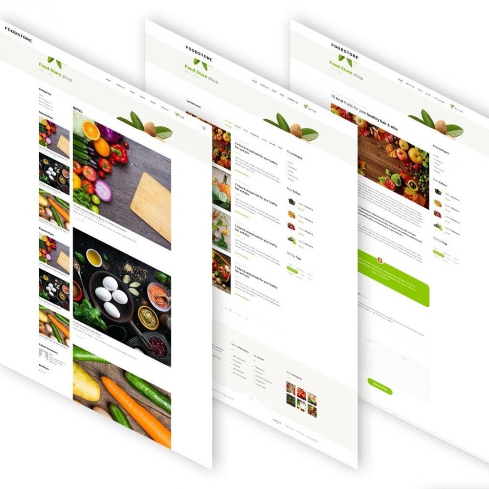 theme - Продовольствие и рестораны - FoodStore II - 5