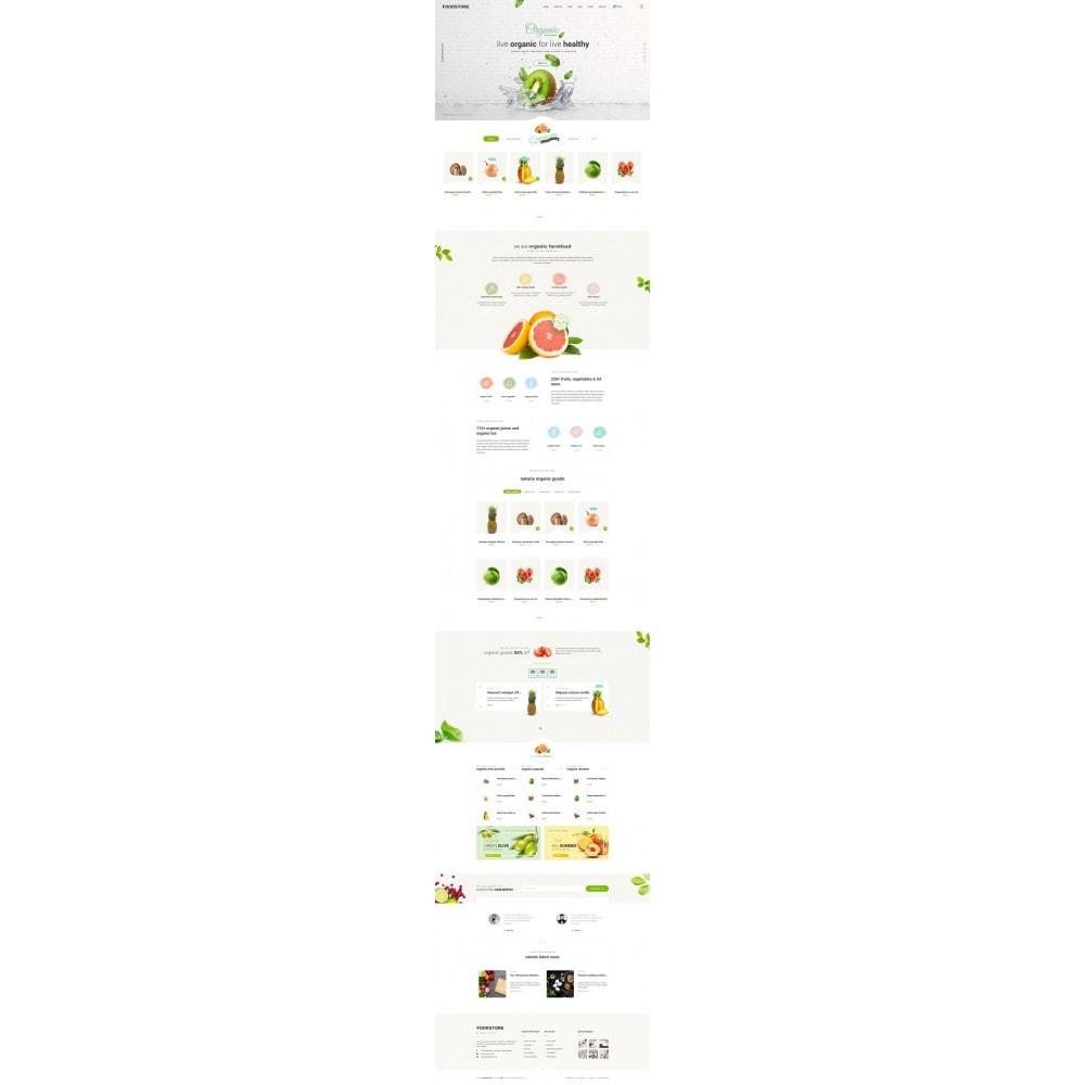 theme - Продовольствие и рестораны - FoodStore II - 6