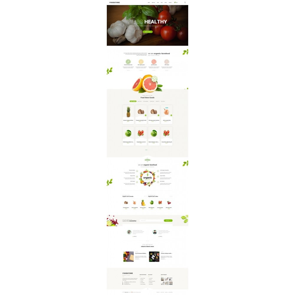theme - Lebensmittel & Restaurants - FoodStore II - 7