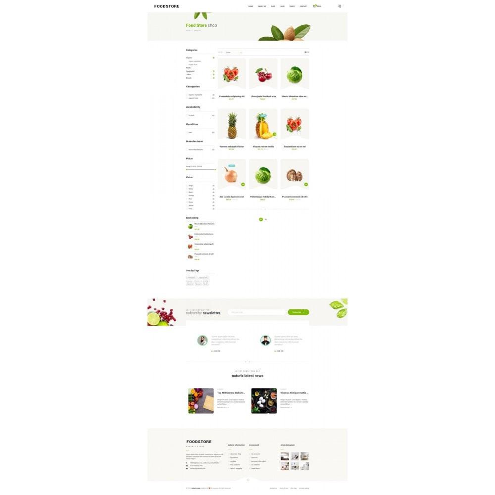 theme - Продовольствие и рестораны - FoodStore II - 8