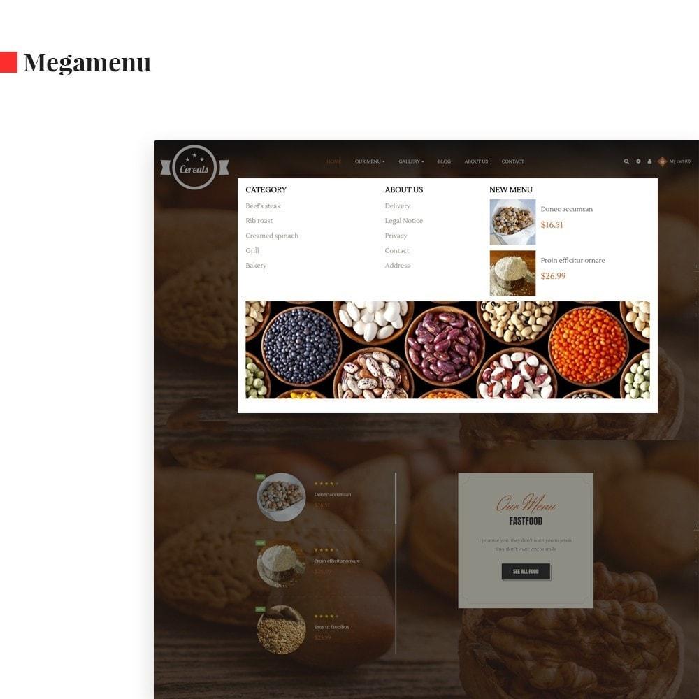 theme - Продовольствие и рестораны - Leo Cereals - 3