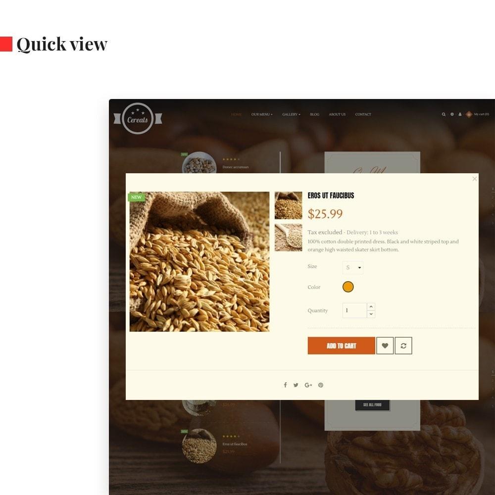 theme - Продовольствие и рестораны - Leo Cereals - 5