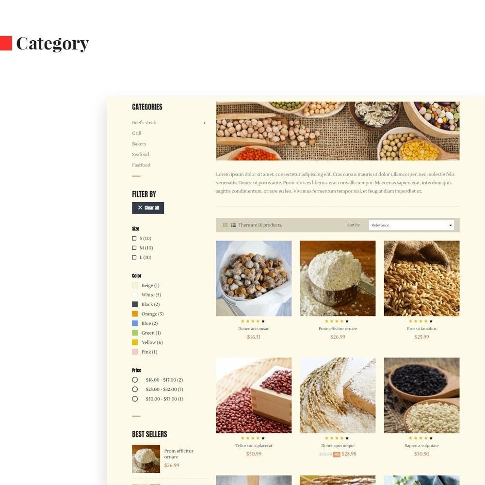 theme - Продовольствие и рестораны - Leo Cereals - 6