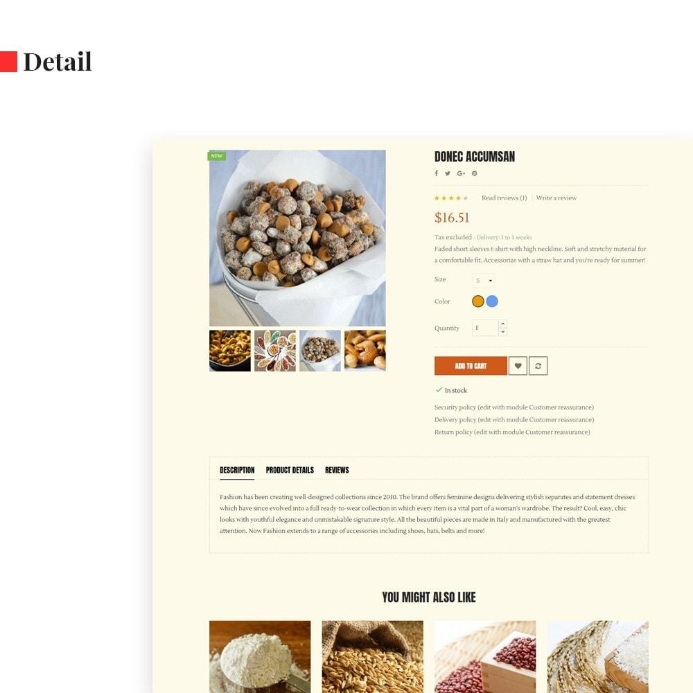 theme - Продовольствие и рестораны - Leo Cereals - 7