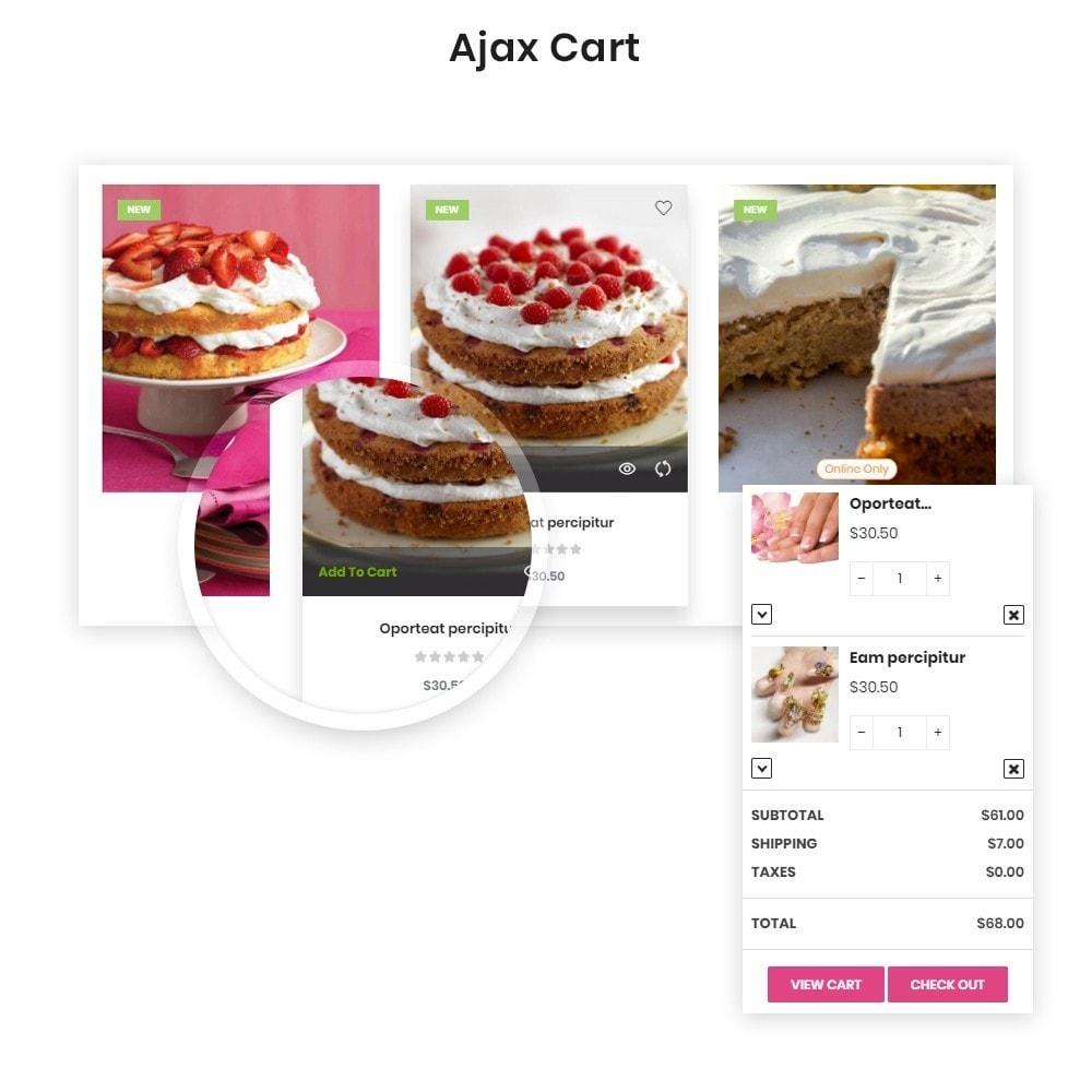 theme - Food & Restaurant - Leo Eros Cake Store - 2