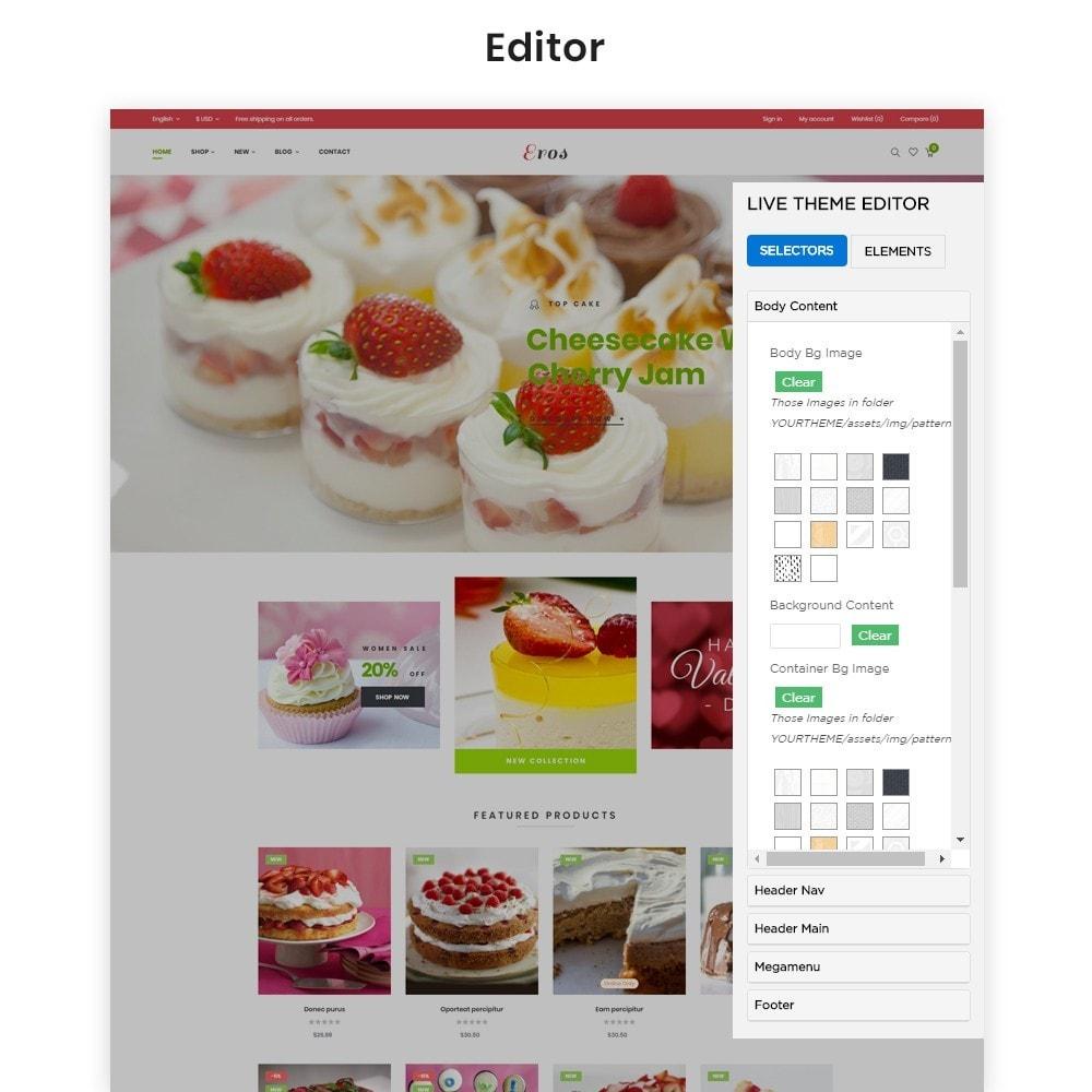 theme - Food & Restaurant - Leo Eros Cake Store - 3