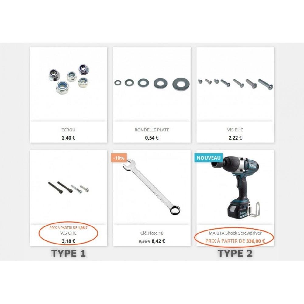 module - Deklinacje & Personalizacja produktów - Price from - 1