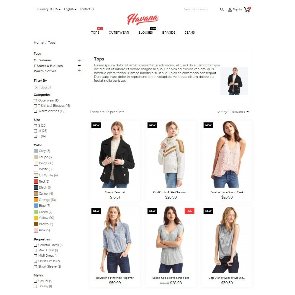 theme - Mode & Schoenen - Havana Fashion Store - 6