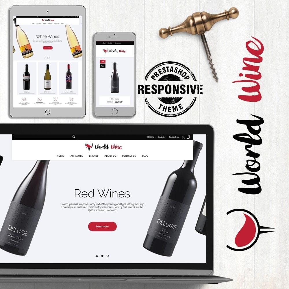 theme - Drink & Wine - World Wine Shop - 1