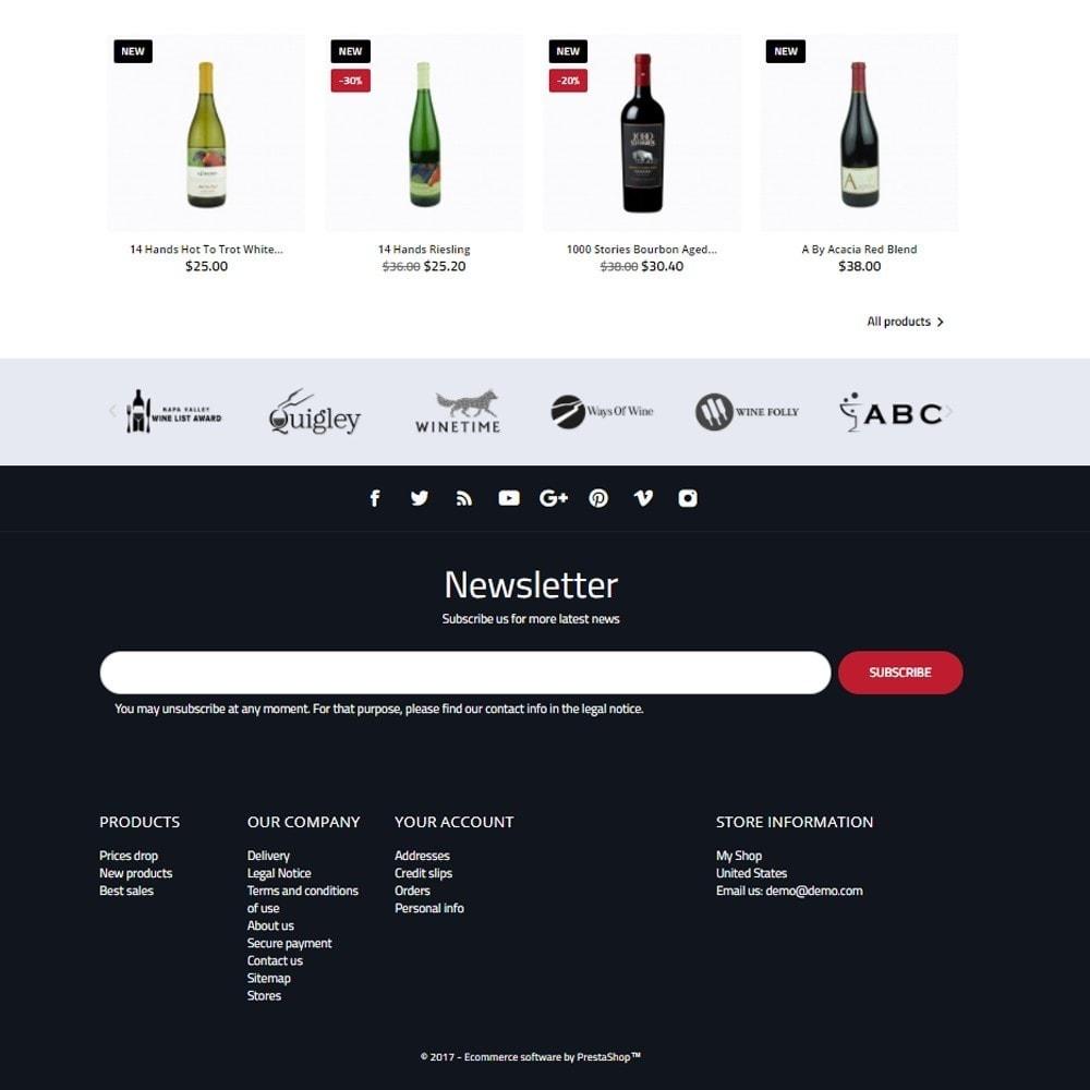 theme - Drink & Wine - World Wine Shop - 4